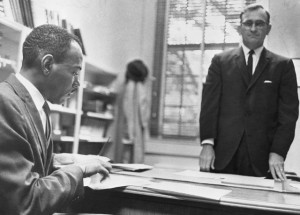 James Meredith Registering at the University of Mississippi