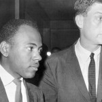Civil Rights Activist James Meredith with Assistant Attorney General John Doan