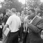 James Meredith on University of Mississippi  Campus